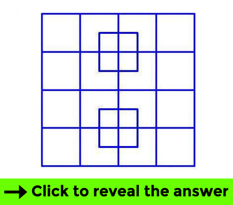 Squares test - Brain teaser