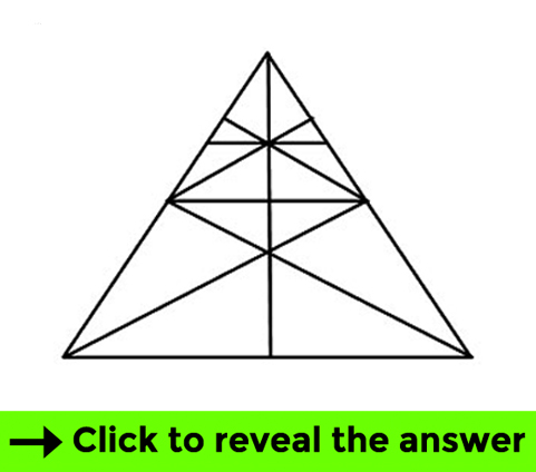 Triangles test - Brain teaser