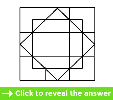 Squares test - Brain teaser